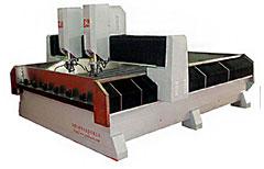 کد 1006 : دستگاه روتر تراش سنگ دو هد سی ان سی CNC سه محور